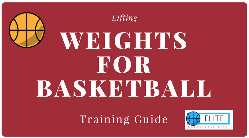 Lifting weights for basketball