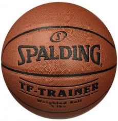 Spalding training basketball