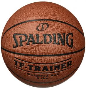 Spalding training basketball