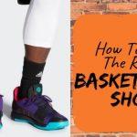 performance basketball shoe