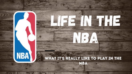 Life in the NBA banner